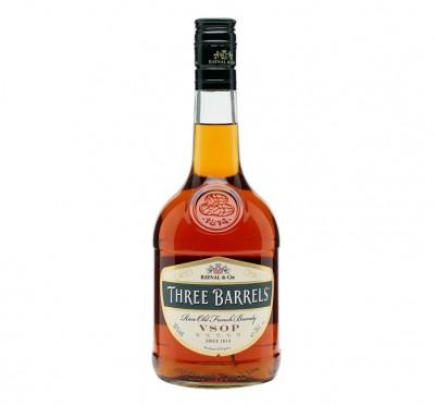 Brandy Three Barrels VSOP 0.70L