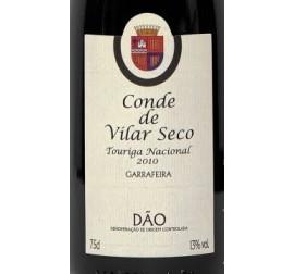 Conde de Vilar Seco touriga Nacional 2010 Tinto 0.75L