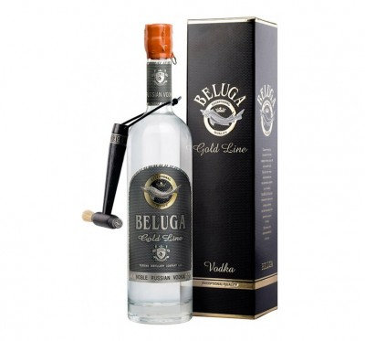 Vodka Beluga Gold GB 0.70L