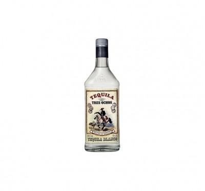Tequila Tres Ochos Blanco 0.70L